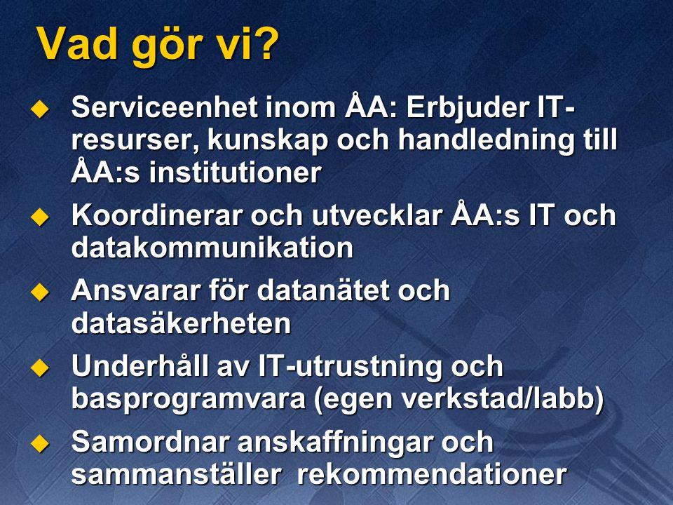 Virtual Private Network (VPN) 2/2 ...d.v.s sitt i korridoren och printa till närmaste printer.