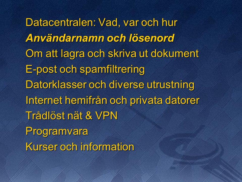 Vidarestyrning av e-post  Ifall du vill ha automatisk vidarestyrning av din e-post till en annan adress, kontakta Oraklet  Använd helst din ÅA e-postadress vid kontakt inom Akademin.