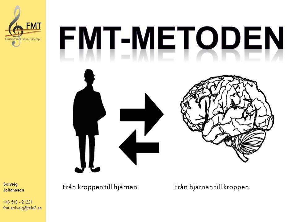 Solveig Johansson +46 510 - 21221 fmt.solveig@tele2.se Från kroppen till hjärnan Från hjärnan till kroppen