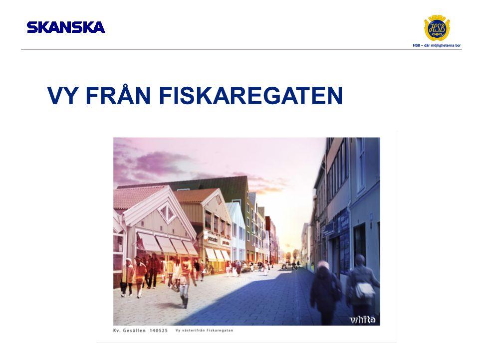 VY FRÅN FISKAREGATEN