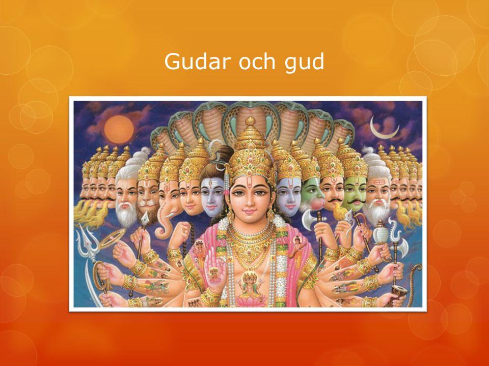 Så började världen Brahman skapar Vishnu kontrollerar Shiva förstör
