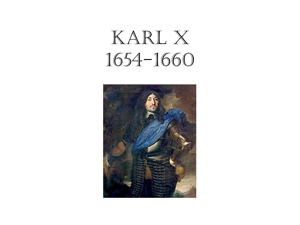 Karl x 1654-1660