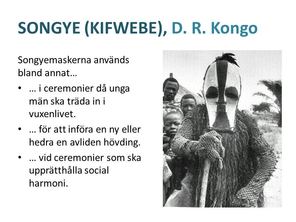 SONGYE (KIFWEBE), D. R.