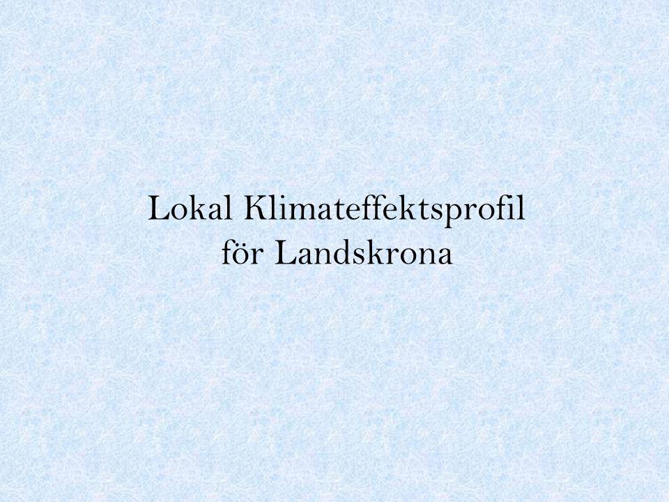 Lokal Klimateffektsprofil för Landskrona