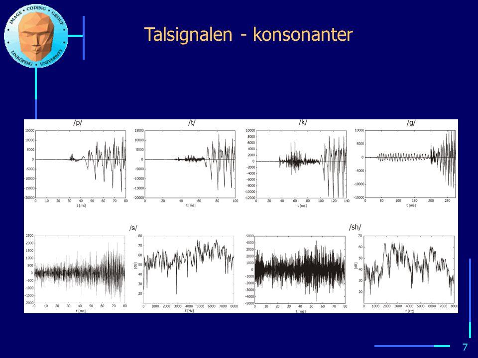 6 Talsignalen - vokaler