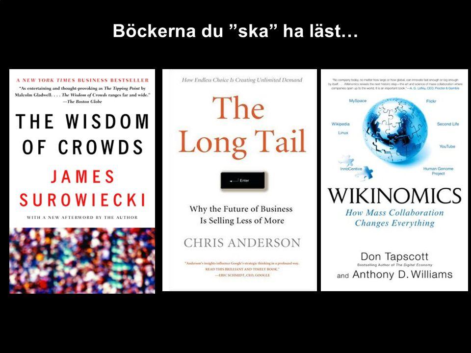 Böckerna du ska ha läst…