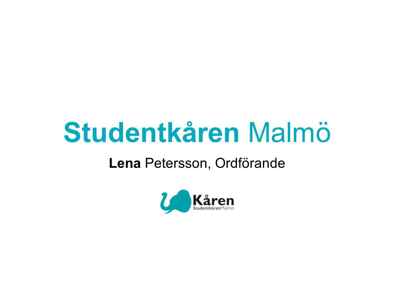 Studentkåren Malmö Lena Petersson, Ordförande