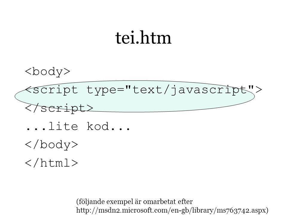 tei.htm...lite kod...