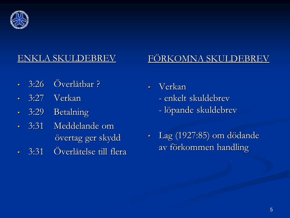 6 RÄNTA Räntelagen (1975:635) Räntelagen (1975:635) Tillämpningsområde Tillämpningsområde Dispositiv Dispositiv o Ränta - enligt avtal - pga dröjsmål med betalning o När .