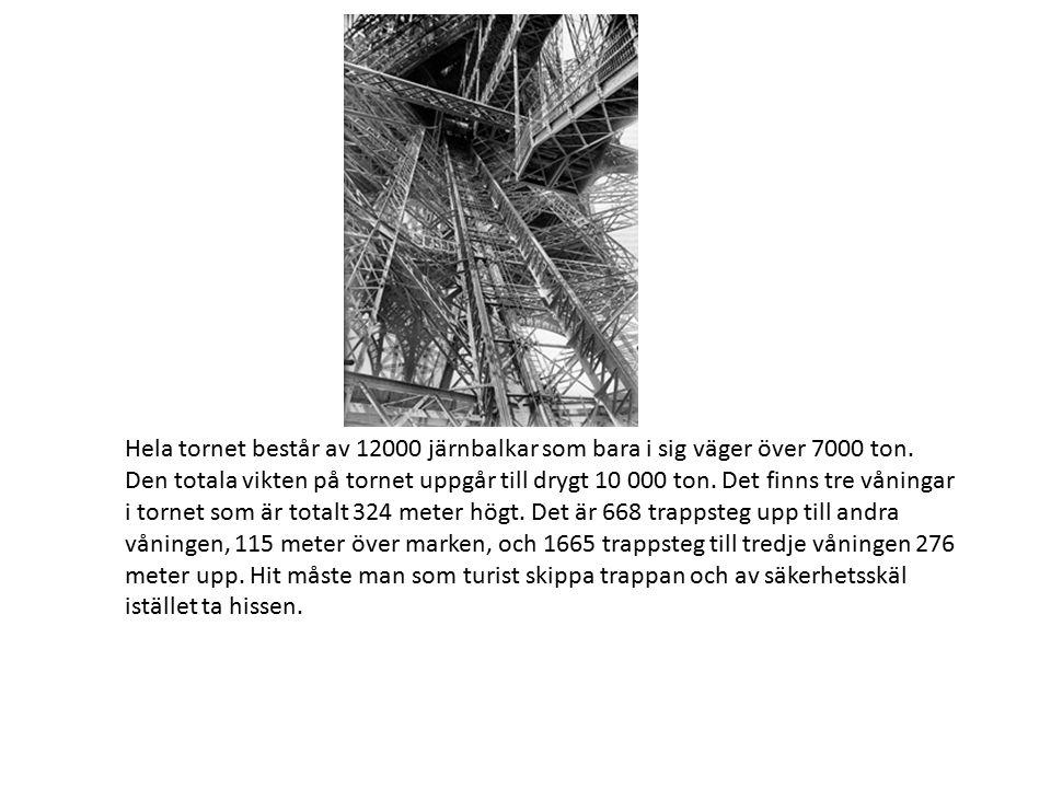 Första våningen ligger 57 meter över marken.