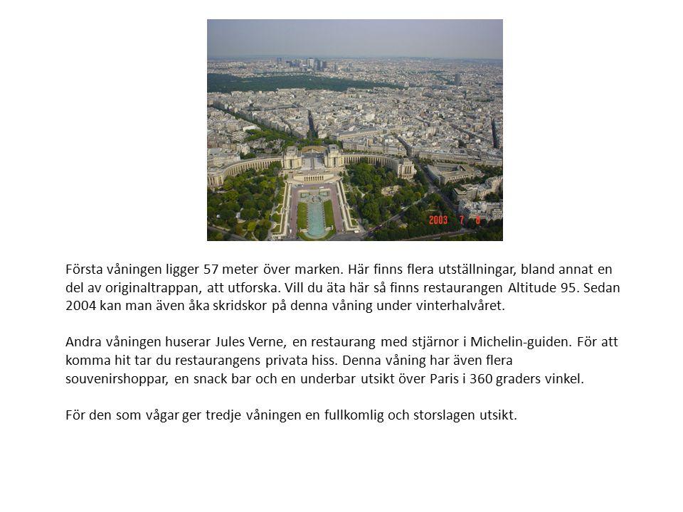 Onödigt vetande… Vart sjunde år målas Eiffeltornet om.