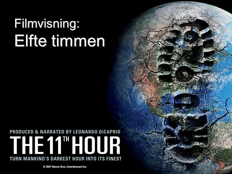 Filmvisning: Elfte timmen