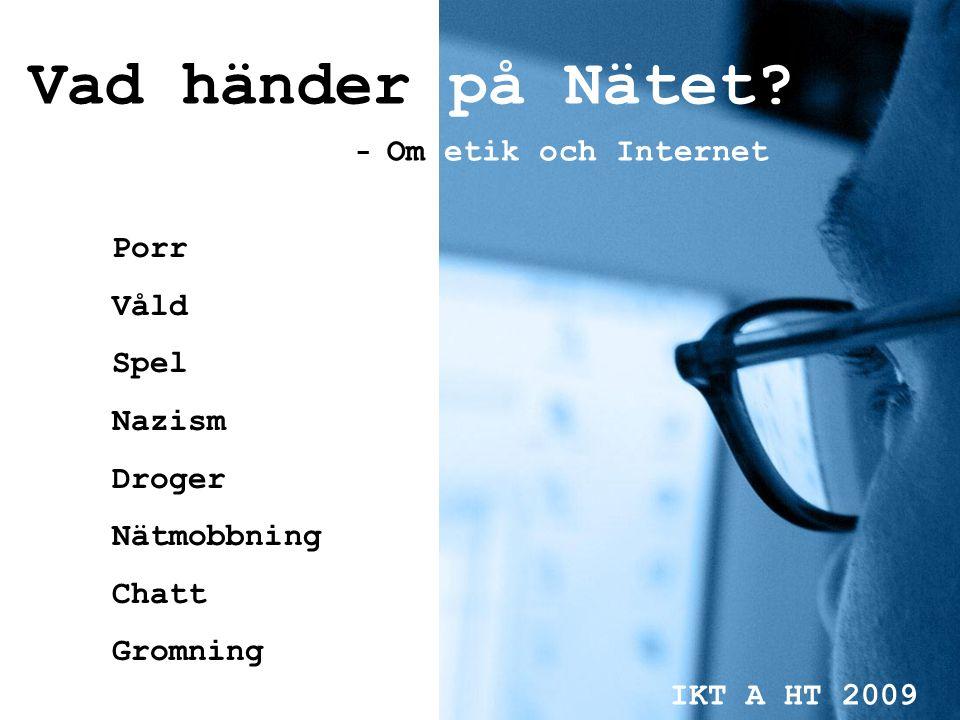 Vad behöver lärare veta om vad barn & ungdomar gör på nätet.