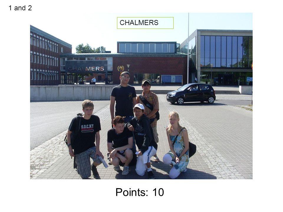 Points: 10 JUBILEUMS KLINIKEN VID SAHLGENSKA 3