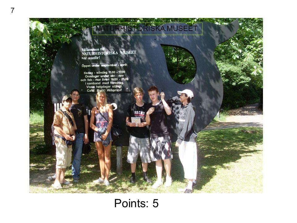 Points : 2 GÖTEBORGS OPERAN 17