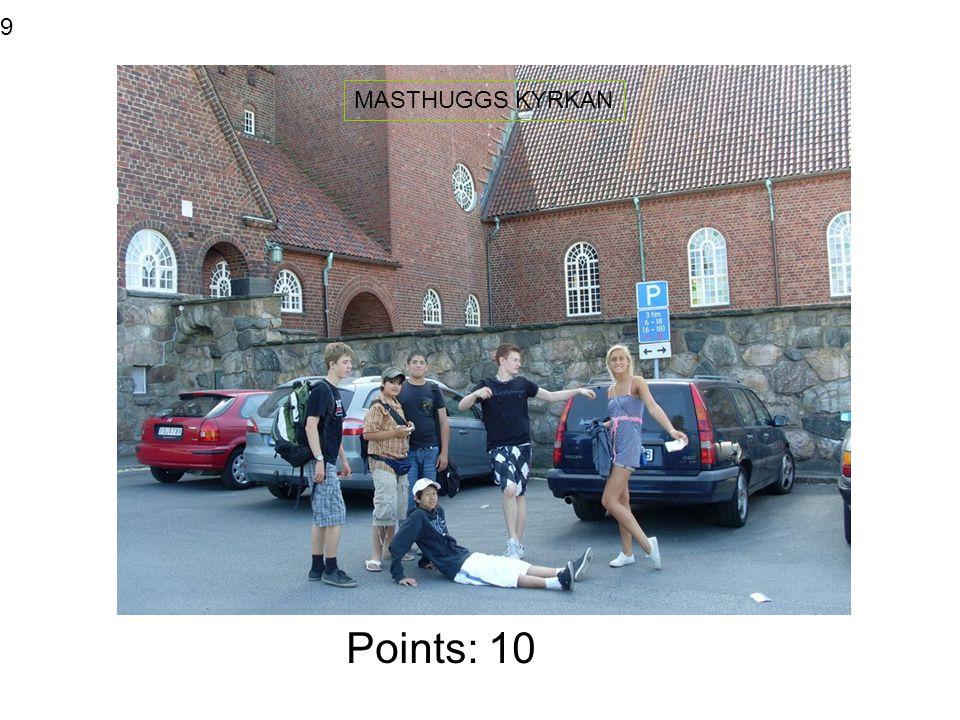 Points: 5 SJÖFARTSMUSEET 10