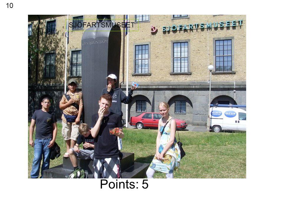 Points: 10 CHAPMANS TORG