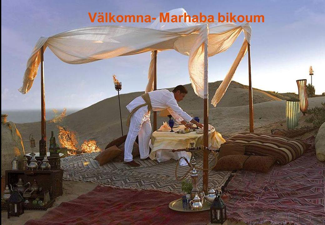 Välkomna- Marhaba bikoum