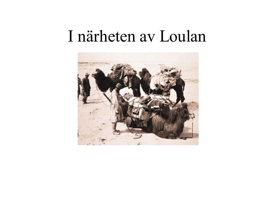 I närheten av Loulan