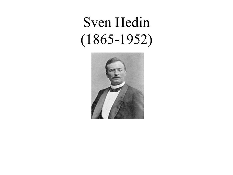 Sven Hedin (1865-1952)