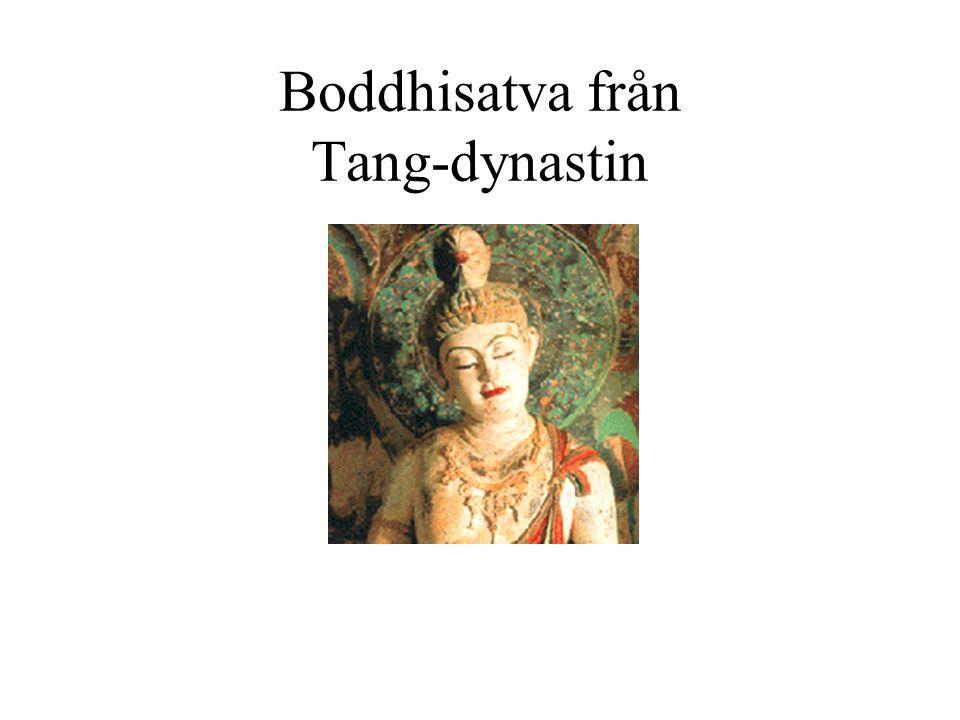 Boddhisatva från Tang-dynastin