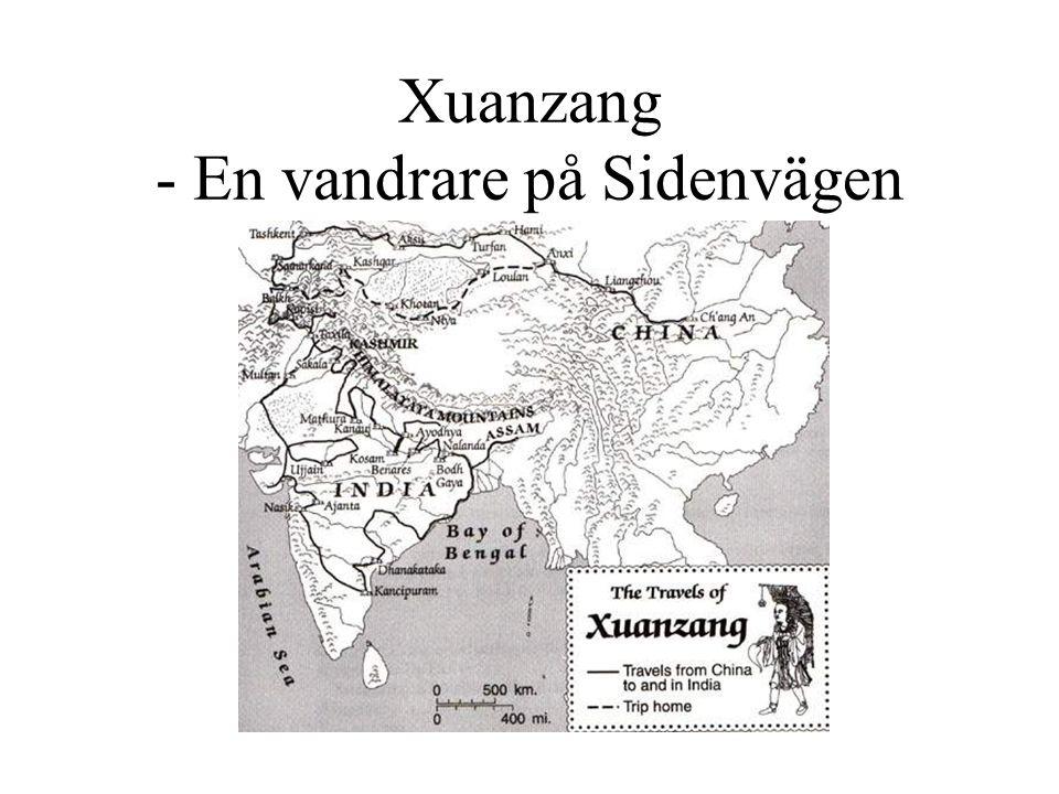 Xuanzang - En vandrare på Sidenvägen