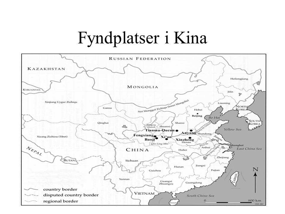 Fyndplatser i Kina