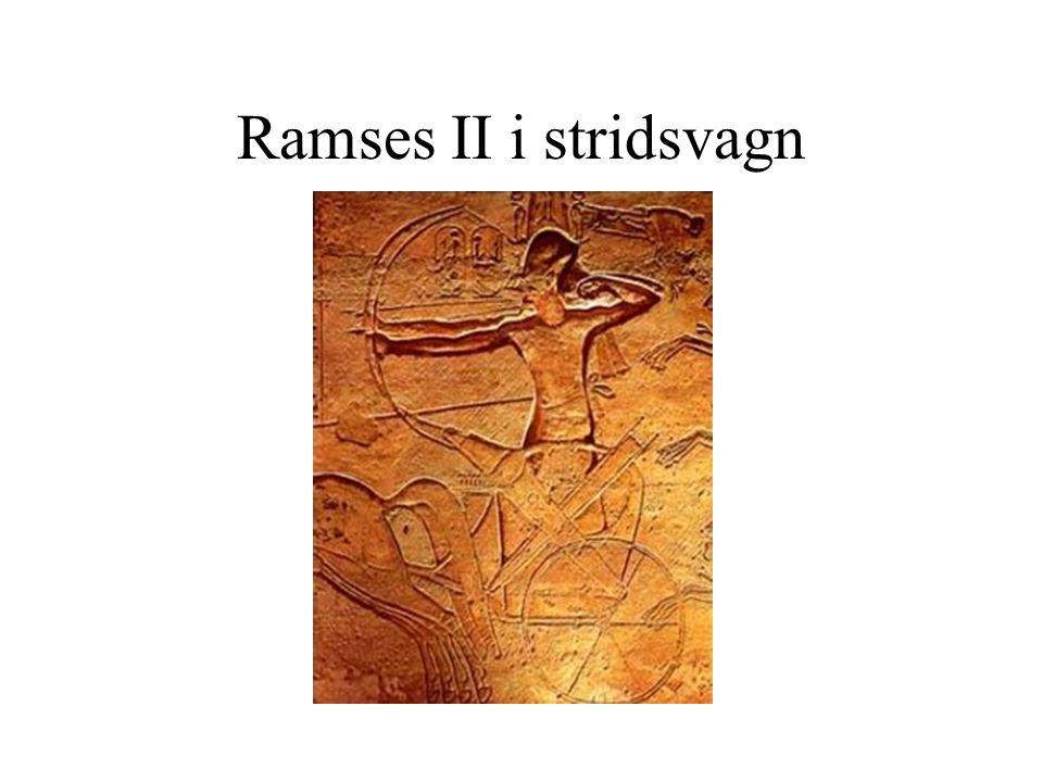 Ramses II i stridsvagn