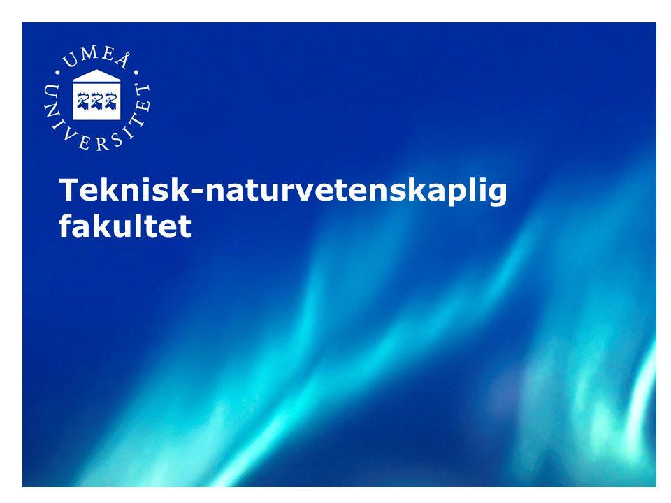 Teknisk-naturvetenskaplig fakultet