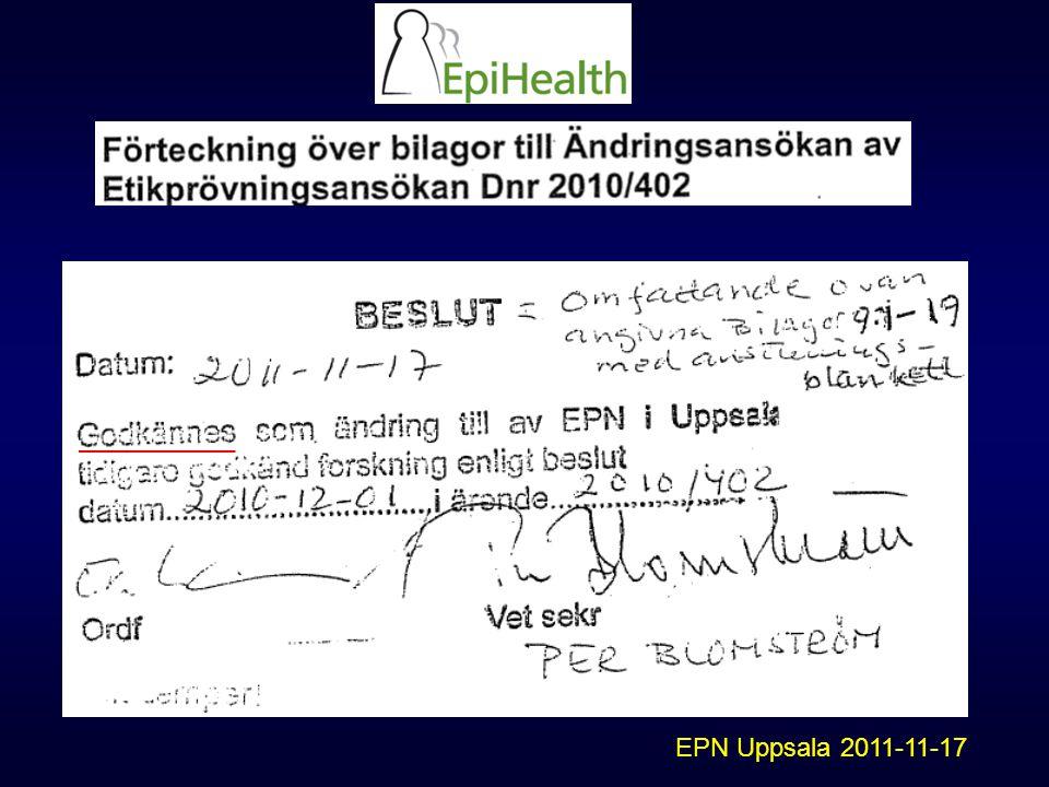 EPN Uppsala 2011-11-17