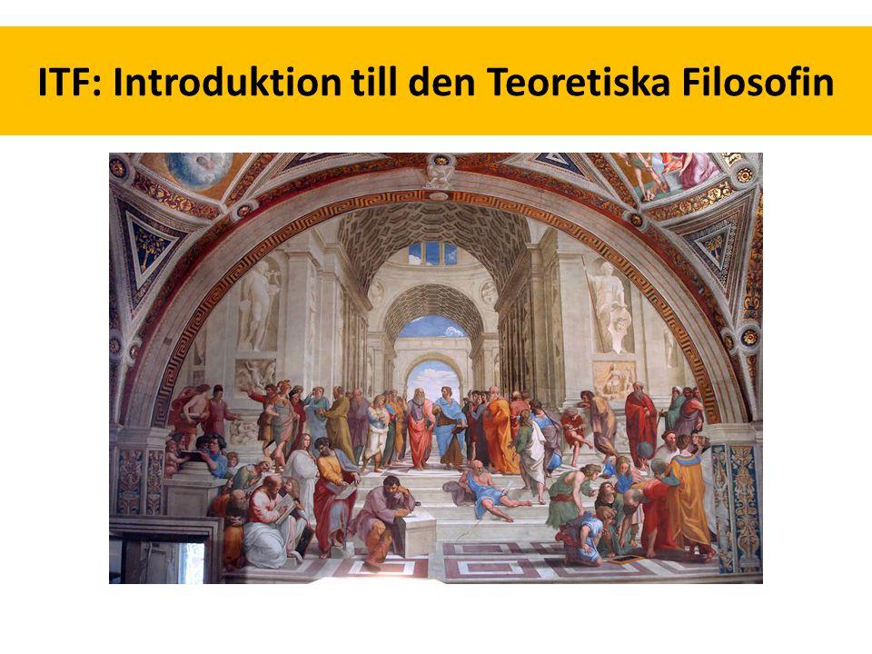 ITF: Introduktion till den Teoretiska Filosofin