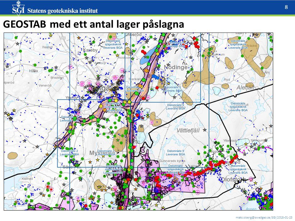 mats.oberg@swedgeo.se/SGI/2015-01-23 8 GEOSTAB med ett antal lager påslagna