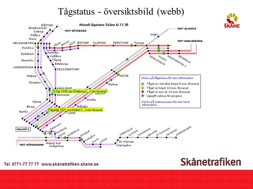 2002-09-23Breddtjänster Trafiken.nu6 Tågstatus-inzoomning Tel.
