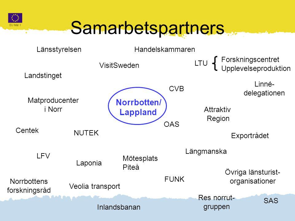 Klicka här för att ändra format Klicka här för att ändra format på bakgrundstexten Nivå två Nivå tre Nivå fyra Nivå fem 3 Samarbetspartners Norrbotten