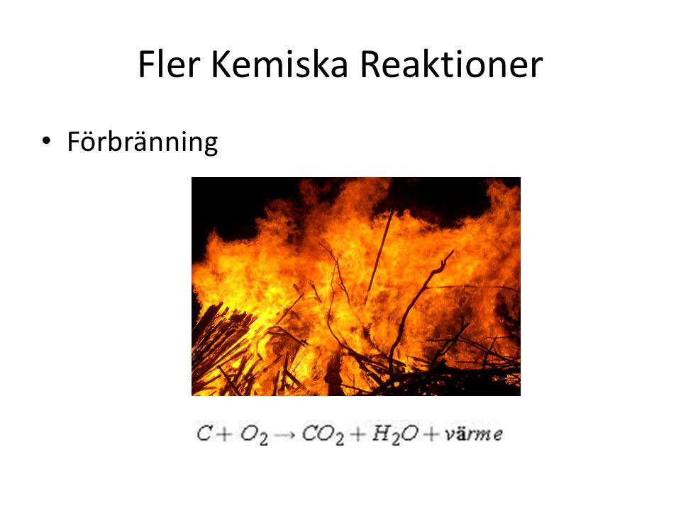 Fysikaliska reaktioner FAST FLYTANDE GAS 3 fysikaliska tillstånd