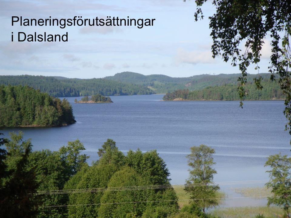 Planeringsförutsättningar i Dalsland