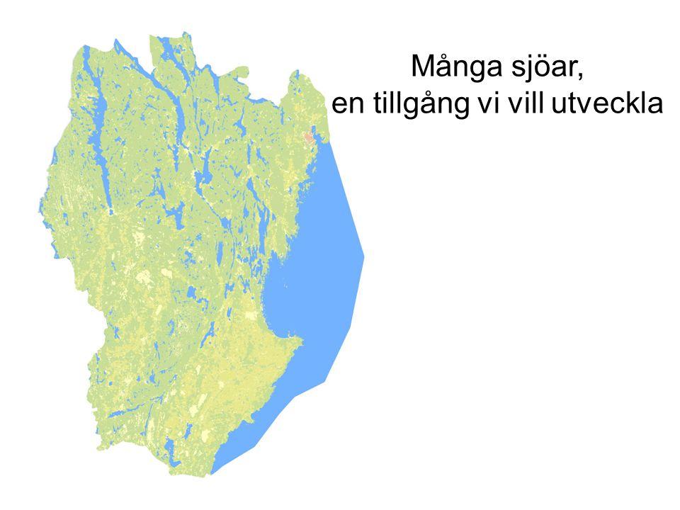Många sjöar, en tillgång vi vill utveckla