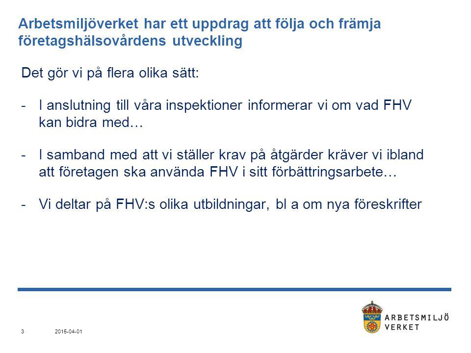 Under ett år inspekterar Arbetsmiljöverkets Göteborgsdistrikt ca 8 % av Västra Götalands och Hallands alla arbetsplatser.