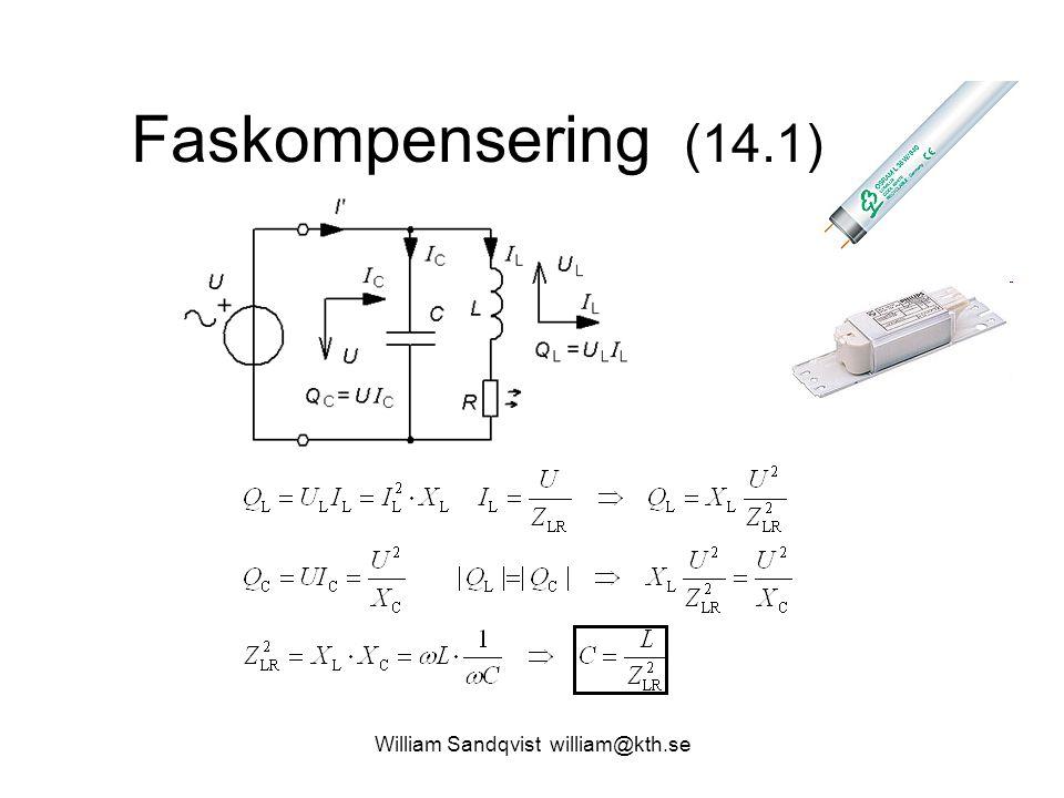William Sandqvist william@kth.se Faskompensering (14.1)