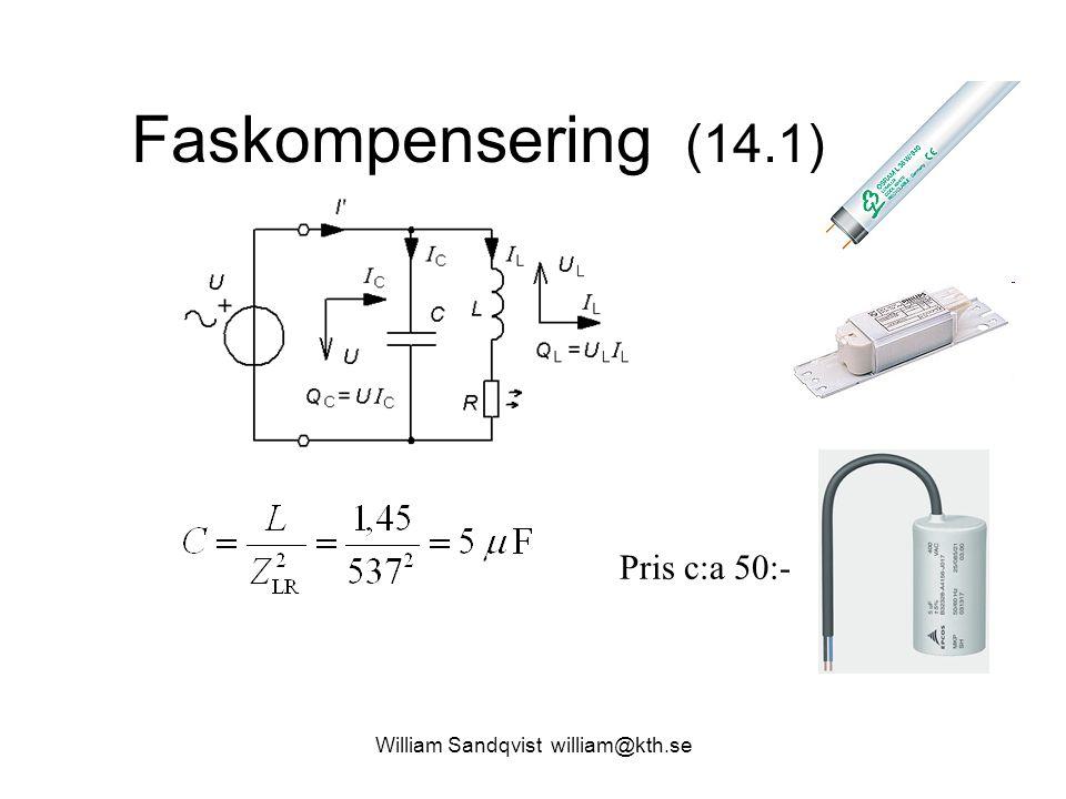William Sandqvist william@kth.se Faskompensering (14.1) Pris c:a 50:-