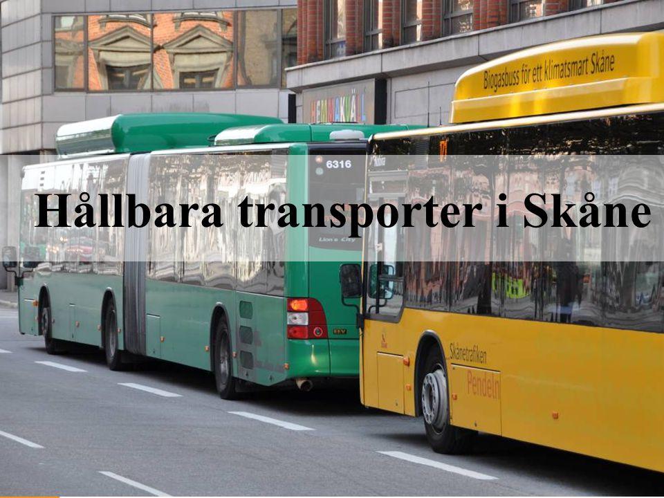 Hållbara transporter i Skåne