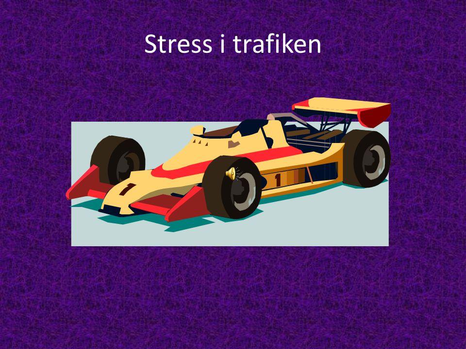 Stress i trafiken