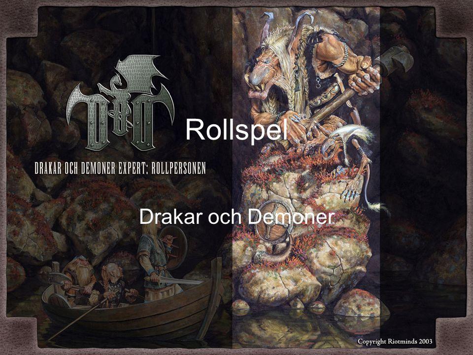 Rollspel Drakar och Demoner