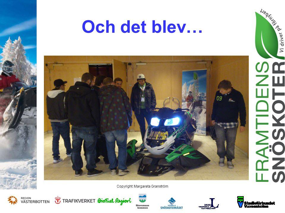 Copyright: Margareta Granström Frågor?.Tack för ER uppmärksamhet .