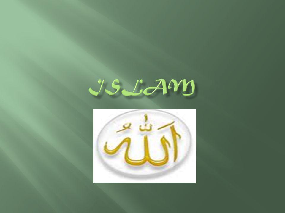 Trosbekännelsen  Det finns ingen Gud utom Gud och Muhammed är hans profet  La ilaha illallah wa muhammadur rasulullah.