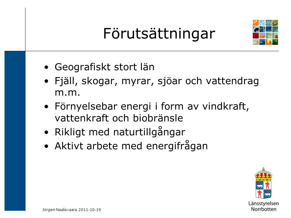 2009-06-04 Kerstin Lundin-Segerlund Geografiskt stort län Fjäll, skogar, myrar, sjöar och vattendrag m.m. Förnyelsebar energi i form av vindkraft, vat