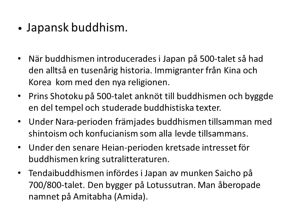Japansk buddhism.