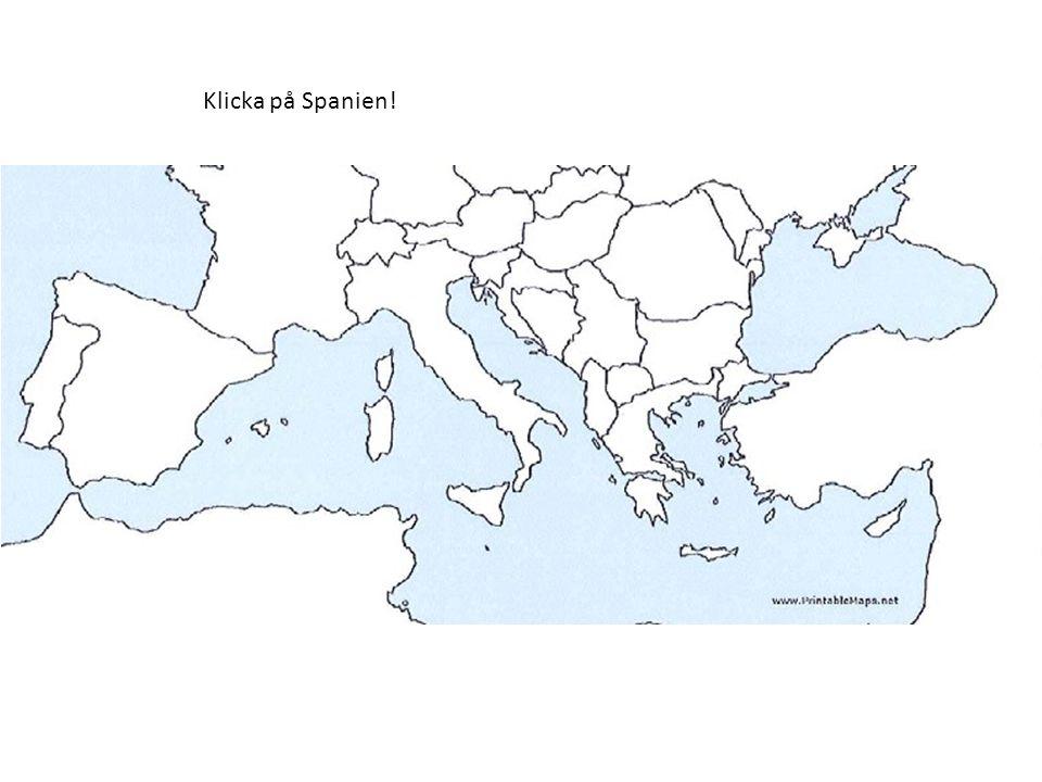 Klicka på det land som har Aten som huvudstad! Det var rätt!