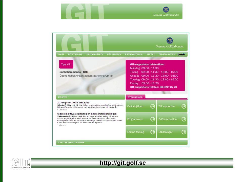 http://git.golf.se