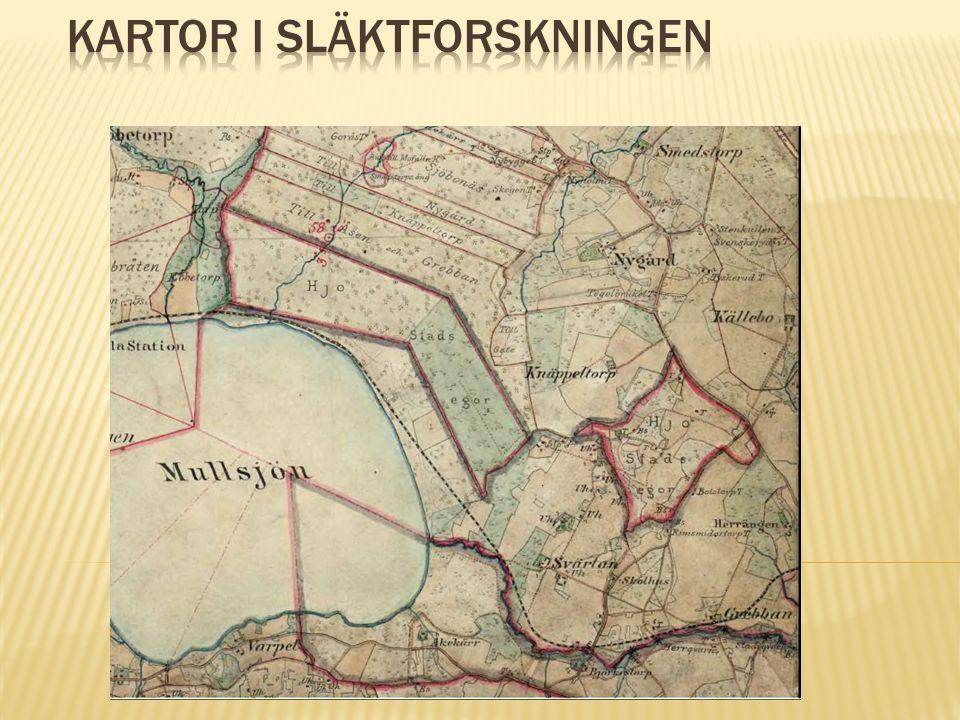  Lantmäteriet startade redan 1628  1630-1655 framställdes 12 000 kartor  Många kartor 1690-1750  Storskifte 1760-1800  Enskifte 1800-1827  Laga skifte 1827-1930